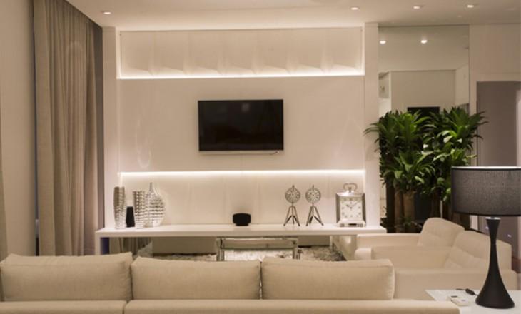 ilumina o em salas de estar e jantar iarq