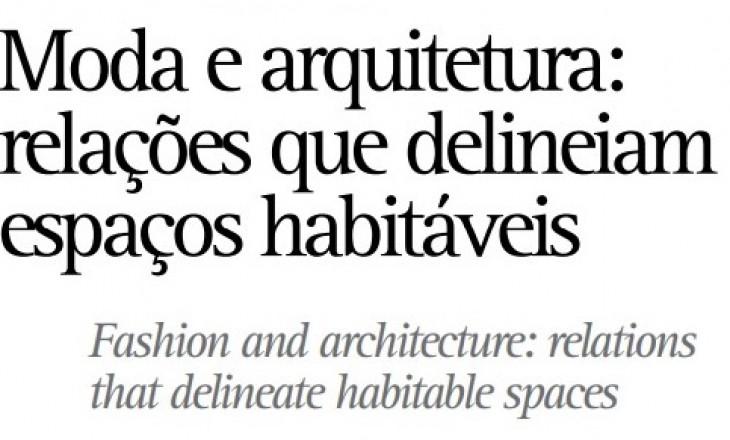 Moda e arquitetura