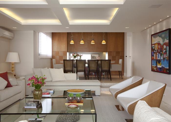 Iluminacao Para Sala De Estar E Tv ~ Iluminação em salas de estar e jantar  IARQ