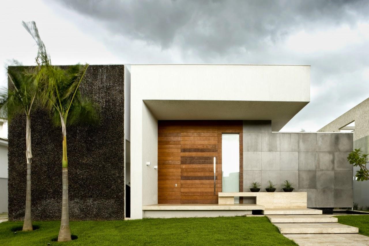 Texturas na arquitetura iarq for Casa minimalista torrelodones